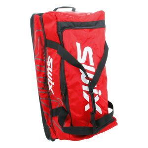 スウィックス(swix) クラムシェルローラーバッグ レッド SG008JA910 スキーケース
