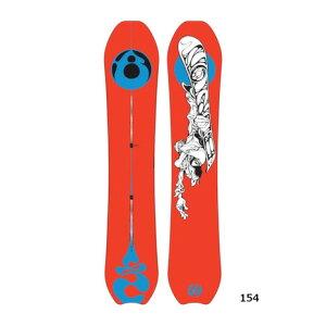バートン(BURTON) スノーボード板 ディープシンカー キャンバー 17200105000 (メンズ)