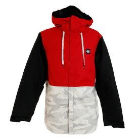 686(686) Foundation INS ジャケット L9W128 Red Colorblock (メンズ)