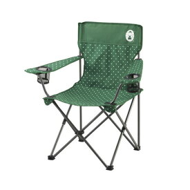 コールマン(Coleman) リゾートチェア グリーンドット 2000026735 折りたたみ椅子 キャンプ (Men's、Lady's)
