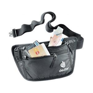ドイター(deuter) セキュリティマネーベルト1 Security Money Belt 1 D3910216-7000 black トラベル ポーチ (メンズ、レディース)