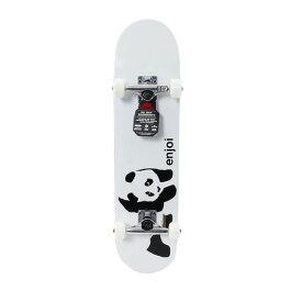 エンジョイ(enjoi) ジュニア スケートボード コンプリートデッキ WHITEY PANDA 7.375 #100014000300 WT (Jr)
