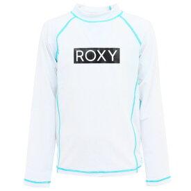 ロキシー(ROXY) ジュニア ラッシュガード UVカット TLY201108WHT (キッズ)