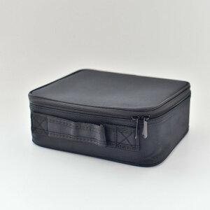 ポーチ トラベルポーチ 小物入れ 収納 仕切り シンプル ツールボックス(横幅26cm)
