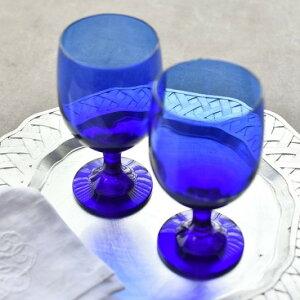 ワイングラス グラス ブルー おしゃれ プレゼント 結婚祝い グランブルーペアグラス Instagram掲載商品