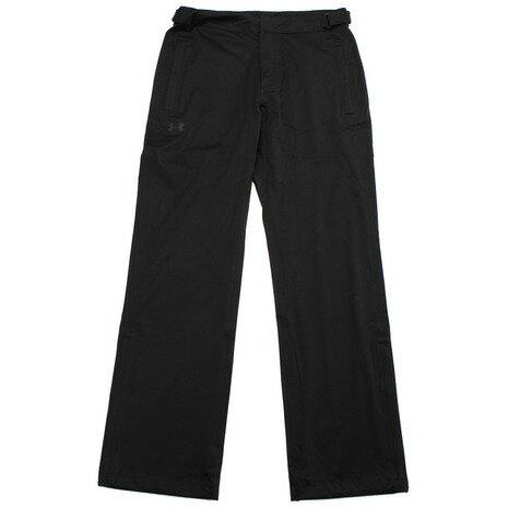 アンダーアーマー(UNDER ARMOUR) ゴルフウェア レインウェア ストームレイン パンツ #1311335 BLK/BLK/GPH GO (メンズ) (Men's)
