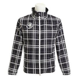 フィドラ(FIDRA) ゴルフウェア メンズ アウター チェックフルジップジャケット FDA0101-NVY (Men's)