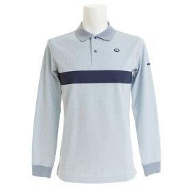 フィドラ(FIDRA) ゴルフウェア メンズ ベーシックラインポロシャツ FI38TY20 SAX (Men's)