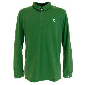 テーラーメイド(TAYLORMADE) ゴルフウェア メンズ テーラードストレッチ 長袖ポロシャツ KY485-U24865 (Men's)