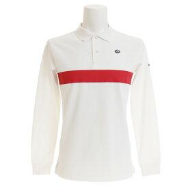 フィドラ(FIDRA) ゴルフウェア メンズ ベーシックラインポロシャツ FI38TY20 WHT (Men's)