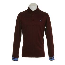 Jリンドバーグ(J.LINDEBERG) ゴルフウェア 長袖ポロシャツ Olle LS Slim TX Pe 071-28911-068 (Men's)