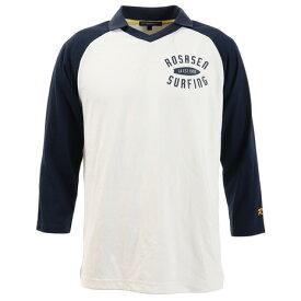 ロサーセン(ROSASEN) ゴルフウェア メンズ 七分袖サーフポロシャツ 044-29311-098 (Men's)