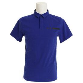 【買いまわりでポイント最大10倍!】アンダーアーマー(UNDER ARMOUR) ゴルフウェア パーペチュアルウーブンポロシャツ #1306301 半袖 (Men's)