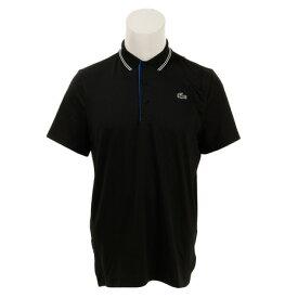ラコステ(LACOSTE) レタリング ストレッチテクニカルジャージー ゴルフ 半袖ポロシャツ DH3360L-ELR (Men's)