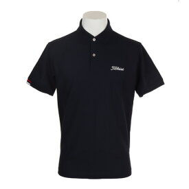 タイトリスト(TITLEIST) ゴルフウェア メンズ 鹿の子ポロシャツ ネイビー TSMC1905NV (Men's)