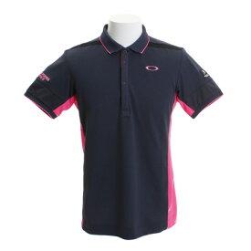 オークリー(OAKLEY) ゴルフウェア メンズ SKULL DIAGONAL 半袖ポロシャツ 434393JP-00N (Men's)