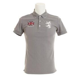 アドミラル(Admiral) ゴルフウェア メンズ フラッグ ポロシャツ ADMA833-GRY (Men's)