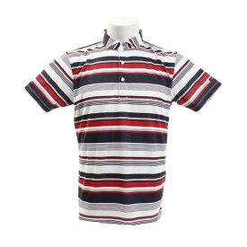 1c7a9990349c6 タイトリスト(TITLEIST) ゴルフウェア メンズ マルチボーダープリント 半袖ポロシャツ TSMC1923RD (Men's)