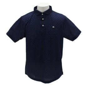 フィドラ(FIDRA) ゴルフウェア メンズ 総柄プリントシャツH9 FI51TG15 NVY (Men's)
