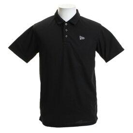 db6743b278391 ニューエラ(NEW ERA) ゴルフウェア メンズ 鹿ノ子ポロシャツ バックロゴ BK 12046813