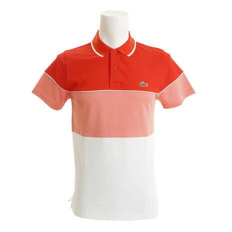 ラコステ(LACOSTE) カラーブロックポロシャツ DH2102-HXN (Men's)
