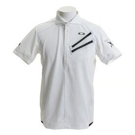 オークリー(OAKLEY) ゴルフウェア メンズ SKULL CLAWZIP シャツ 434389JP-100 (Men's)