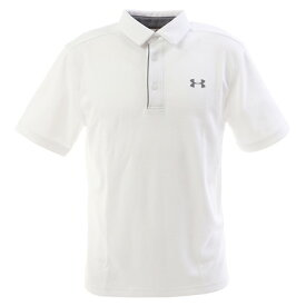 アンダーアーマー(UNDER ARMOUR) ゴルフ ポロシャツ メンズ テックポロシャツ 1290140 WHT/GPH/GPH GO (Men's)