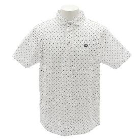 フィドラ(FIDRA) ゴルフウェア メンズ 総柄プリントシャツH9 FI51TG15 WHT (Men's)