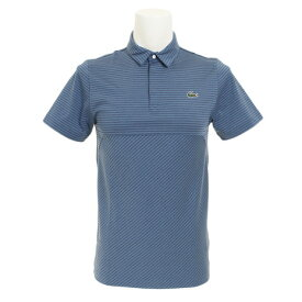 ラコステ(LACOSTE) ゴルフウェア メンズ スナップフロントゴルフポロ DH3465L-A4Y (Men's)