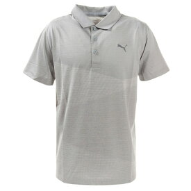 【20%OFFクーポン対象商品】プーマ(PUMA) ゴルフ ポロシャツ メンズ オルタニットジャガードポロシャツ597532-01 (メンズ)