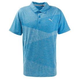プーマ(PUMA) ゴルフ ポロシャツ メンズ オルタニットジャガードポロシャツ 597532-02 (メンズ)