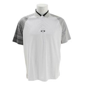 オークリー(OAKLEY) ゴルフウェア メンズ AERODYNAMIC GOLF ポロシャツ 434351-100 (Men's)