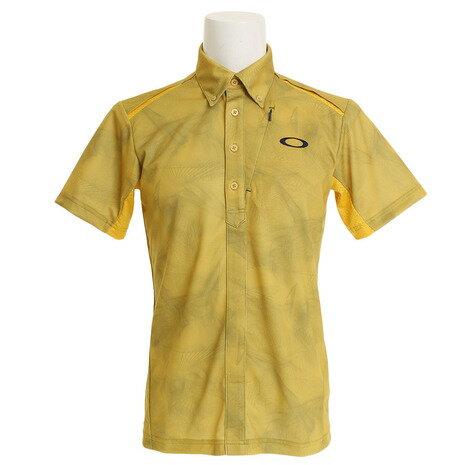 オークリー(OAKLEY) BARK WIND TRACKS ポロシャツ 434187JP-580メンズ 半袖 (Men's)