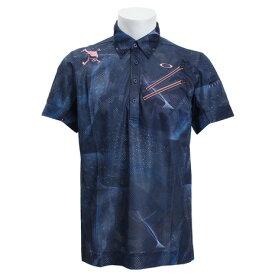 オークリー(OAKLEY) ゴルフウェア メンズ SKULL BREATHA ポロシャツ 434395JP-66V (Men's)
