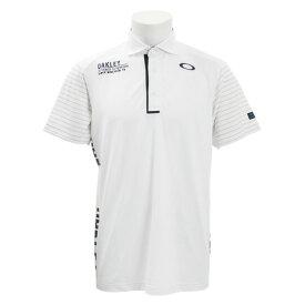 オークリー(OAKLEY) ゴルフウェア メンズ Vertical 半袖ポロシャツ 434471JP-100 (Men's)