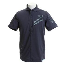 オークリー(OAKLEY) ゴルフウェア メンズ SKULL CLAWZIP シャツ 434389JP-00N (Men's)