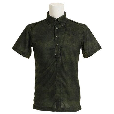 オークリー(OAKLEY) BARK WIND TRACKS ポロシャツ 434187JP-78Yメンズ 半袖 (Men's)