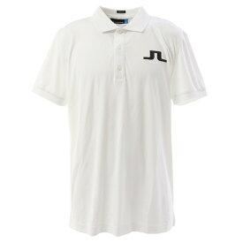 J.LINDEBERG 最安値挑戦ゴルフウェア メンズ BIG BRIDGE REG FIT 半袖ポロシャツ 071-29344-004 (メンズ)
