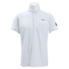 オークリー(OAKLEY) ゴルフウェア メンズ SKULL CROSS シャツ 434392JP-100 (Men's)