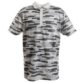 アディダス(adidas) ゴルフ ポロシャツ ゴルフウェア メンズ ACカモ柄プリント ワイドカラーシャツ FVE54-DW6288GR (メンズ)