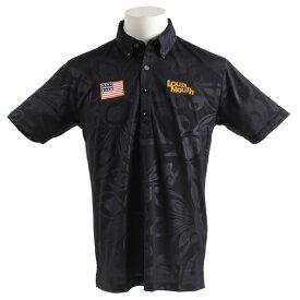 ラウドマウス(LOUDMOUTH) ゴルフウェア メンズ 半袖シャツ エンボス 768600-998 (Men's)