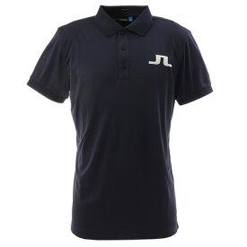 J.LINDEBERG 最安値挑戦ゴルフウェア メンズ BIG BRIDGE REG FIT 半袖ポロシャツ 071-29344-098 (メンズ)