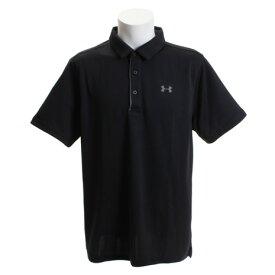 アンダーアーマー(UNDER ARMOUR) ゴルフウェア メンズ テックポロシャツ #1290140 BLK/GPH/GPH GO (Men's)