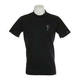 フィドラ(FIDRA) ゴルフウェア メンズ 半袖丸襟シャツ FV57LH10 NVY (Men's)