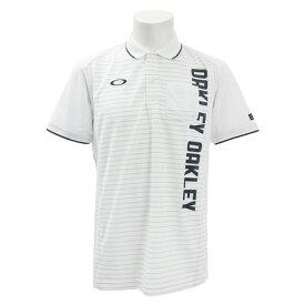 オークリー(OAKLEY) ゴルフウェア メンズ Vertical 半袖ポロシャツ 434470JP-100 (Men's)