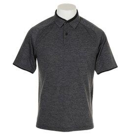 アンダーアーマー(UNDER ARMOUR) ゴルフウェア メンズ ポロシャツ #1327029 BLK/BLK GO (Men's)