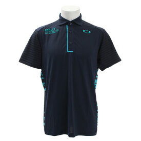オークリー(OAKLEY) ゴルフウェア メンズ Vertical 半袖ポロシャツ 434471JP-60B (Men's)