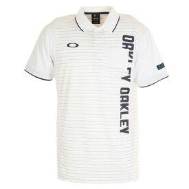 オークリー(OAKLEY) ゴルフ ウエア ポロシャツ Vertical 半袖ポロシャツ 434470JP-100 (メンズ)