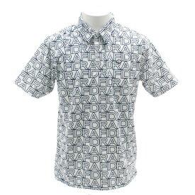 フィドラ(FIDRA) ゴルフウェア メンズ ロゴプリントポロシャツ E9 FI5FTG22 WHT (Men's)