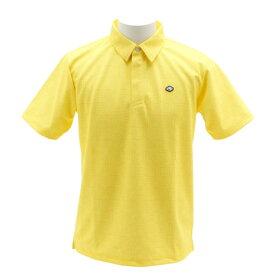 フィドラ(FIDRA) ゴルフウェア メンズ ロゴプリントポロシャツ E9 FI5FTG22 YEL (Men's)